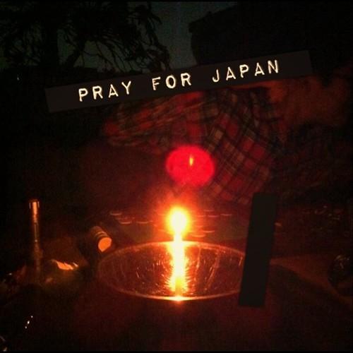 届け! この思い…… pray for japan