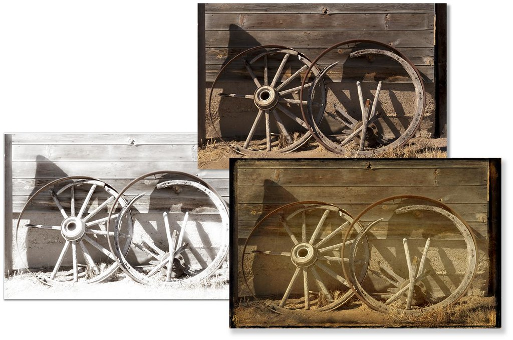 Wagon wheels layers