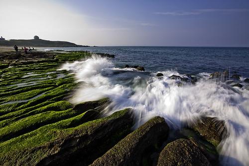 Laomei Green Algal Reef, Shihmen 老梅石槽| Flickr - Photo Sharing!