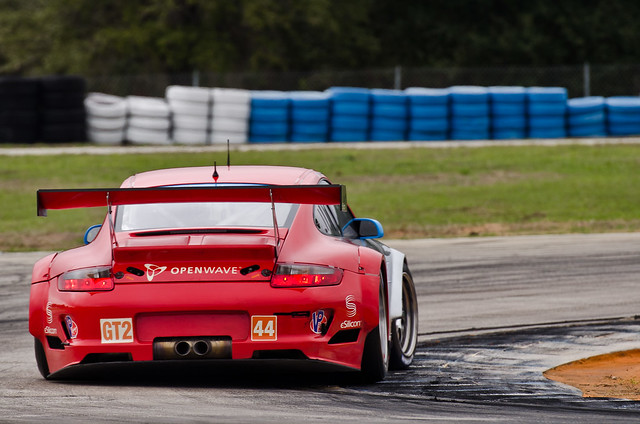 Sebring 2011 - ALMS / ILMC Winter Test - Flying Lizard Porsche 911 GT3 RSR