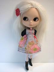 Pretty new dress...