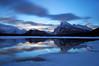 GTR6768 (Pete Carroll) Tags: canada sunrise landscape nikon banff mountrundle vermillionlakes petercarroll colorefexpro niksoftware leebigstopper phoeniximmortal petercarrollphotography