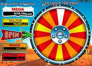 free Mega Moolah 5 Reel Drive jackpot bonus