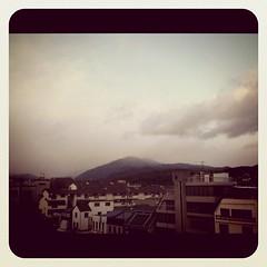 比叡山今日は雪消えませんでした。