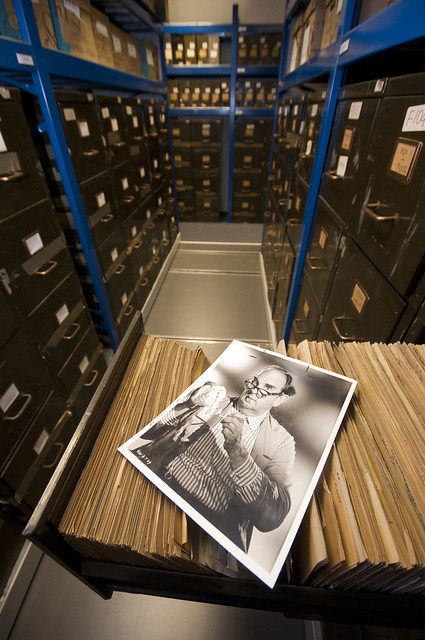 Daily Herald Collection in Insight Collections and Research Centre