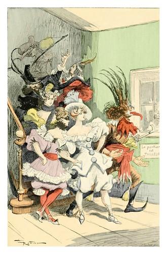 024-Locuras carnavalescas-Le 19e siècle 1888- Albert Robida