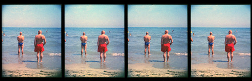Balds on the beach