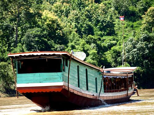 Mekong - barcaza
