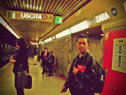 zara metro exit