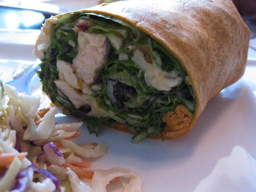 Apricot Curry Wrap