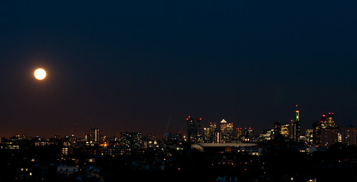Primrose Hill Sunset and Moon-21