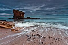 (Phil 'the link' Whittaker (gizto29)) Tags: longexposure seascape beach rock nikon stack northumberland northeast seatonsluice d5000 charleysgarden