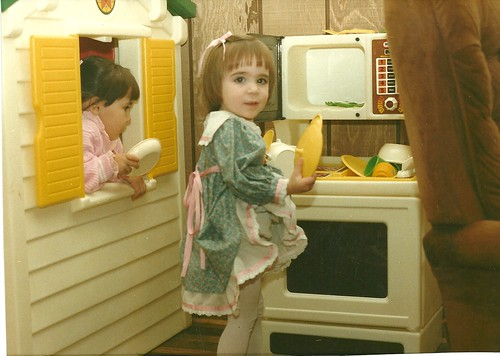 Elena in the kitchen