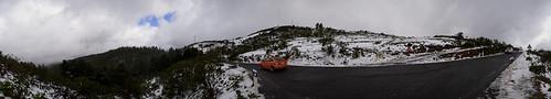 Carretera nevada, Valleseco. Isla de Gran Canaria