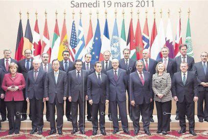 11c21 Cumbre París ayuda pueblo libio del 19 marzo 2011