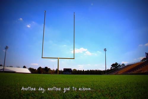 Day 80:  Wide Open Goals