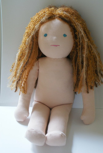 Waldorf limbed doll