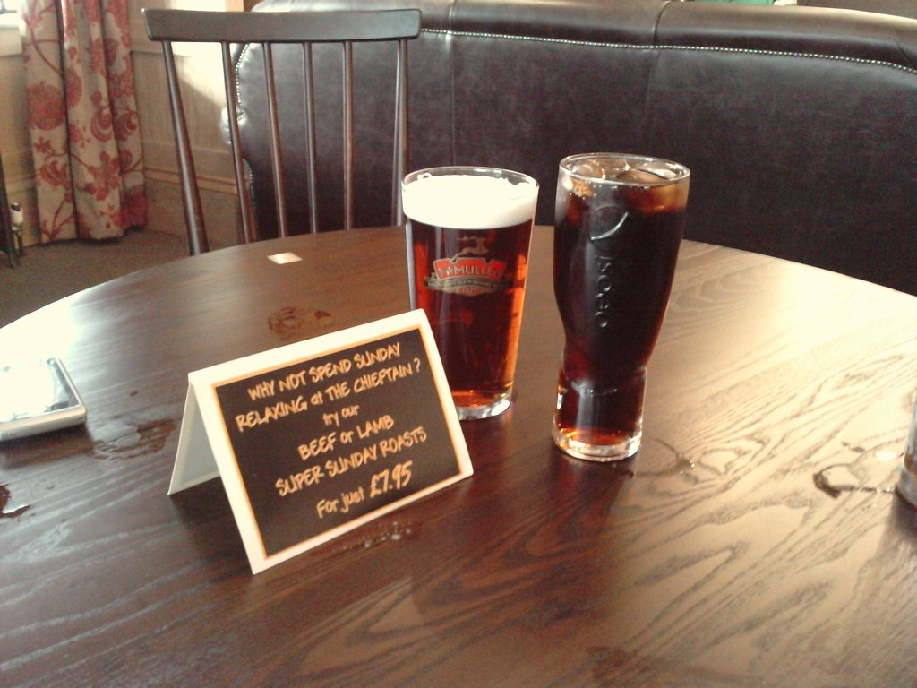 The New Chieftain Pub-Pints and Grub