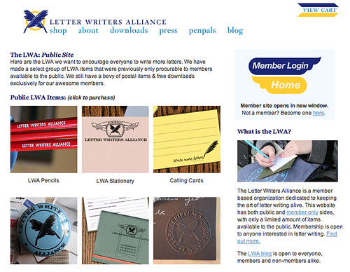 Behind the Curtain: Big Changes for National Letter Writing Month