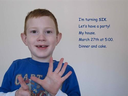 I'm six