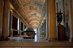 Diana's Gallery (stevesheriw) Tags: france iledefrance fontainebleau europe chateau palace interior dianasgallery globe napoleon library