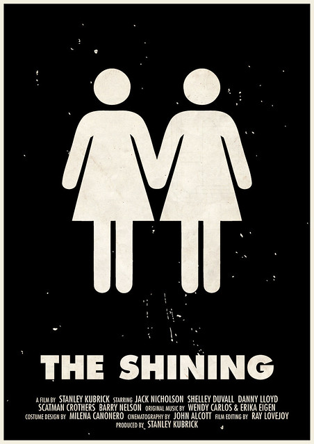 'The Shining' pictogram movie poster