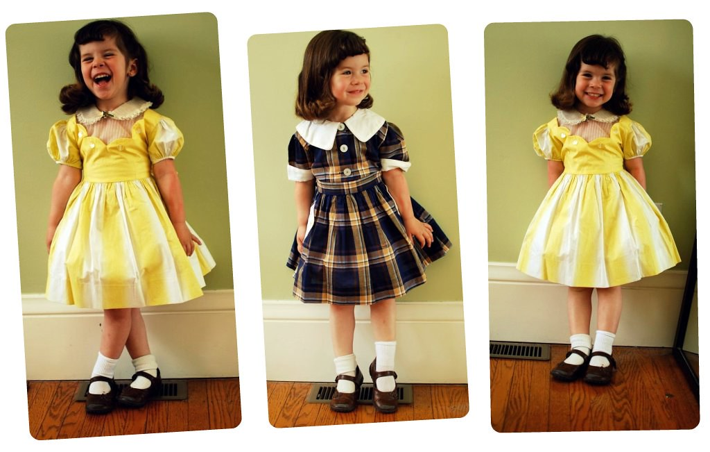 Vintage Toddler Dresses | The Sew Weekly - Sewing & Vintage Lifestyle