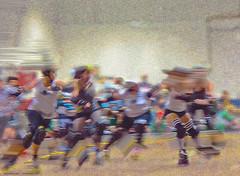 roller derby rocks X
