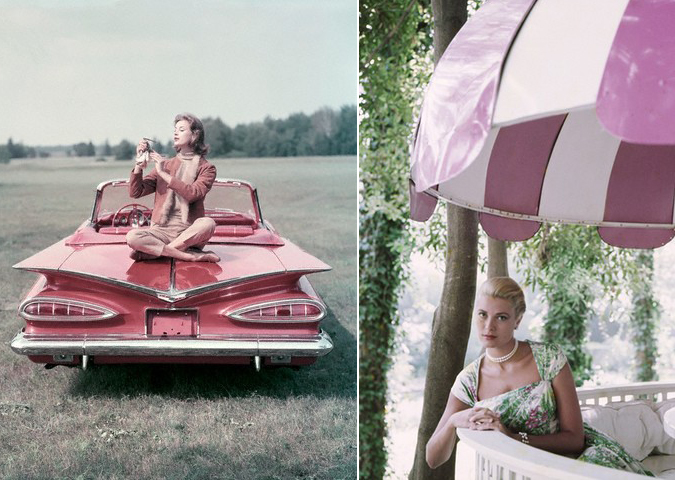 Think Pink: vintage inspirations