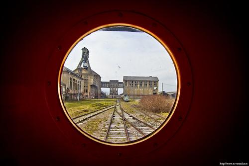 A travers le hublot...du train