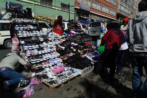 Mercado - La Paz, Bolivia