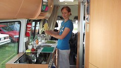 Motorhome cooking