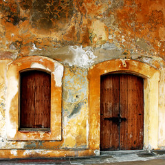 door and  window from  San Juan de Puerto Rico by Zé Eduardo...