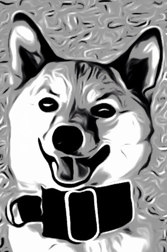 taro shiba, smile for a treat (toonpaint)