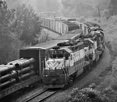 Frisco, Cordova, Alabama, 1974 (railphotoart) Tags: 716 700 stillimage cordova alabama unitedstates