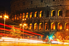 IMG_71611  (Kate_Lokteva) Tags: lighting longexposure travel italy night italia eu it colosseum coliseo europeanunion colosseo colise  kolosseum travelphotography   coliseoderoma canon5dmarkii