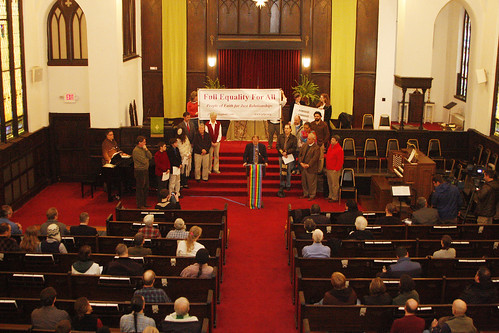 Local clergy push City Council to pass equality resolution