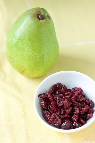 Pear and Cranberry