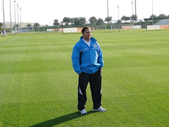LEONARDO VITORINO (Leonardo Vitorino) Tags: soccercoach algharafa asiancup2011 braziliancoach leonardovitorino