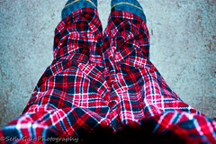Day 25 PJ Day (Staff Sergeant Seth) Tags: guy feet digital canon eos rebel floor pants maine pjs augusta jammies xsi flanel 365days