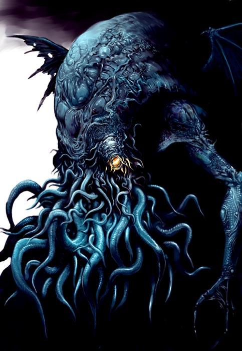 Tatsuya Nemoto (H.P Lovecraft Illustration) Cthulhu 5