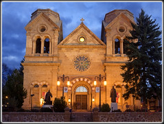 Cathedral Basilica (MikeJonesPhoto) Tags: newmexico nature landscape photographer scenic professional nm 1110 4269 mikejonesphoto smithsouthwestern wwwmikejonesphotocom