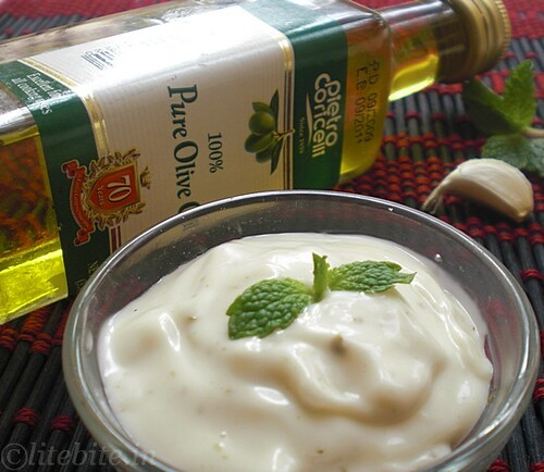 Eggless Yogurt Mayonnaise