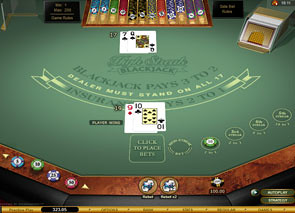 High Streak European Blackjack Gold game