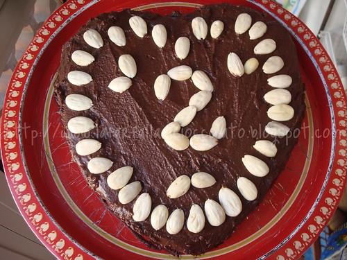 Torta CIoccolato Nutella e Mandorle 2