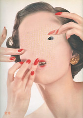 Suffvocation (captainpandapants) Tags: woman look hands mask fingers makeup hairdo style cover facial vocation suffocate suffocation todiefor dyingforstyle maskover buildover coverover