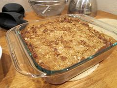 Apple Crisp Done 1-11 (anothertom) Tags: recipe dessert treat baked bakedgoods applecrisp canonpowershots95