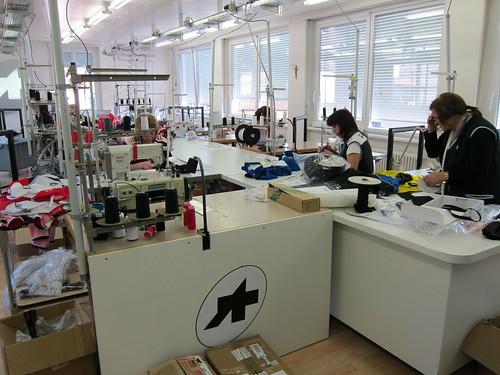 The sewing ladies