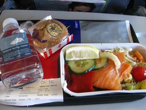Gluten free plane food