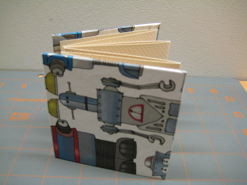 Accordion bound book